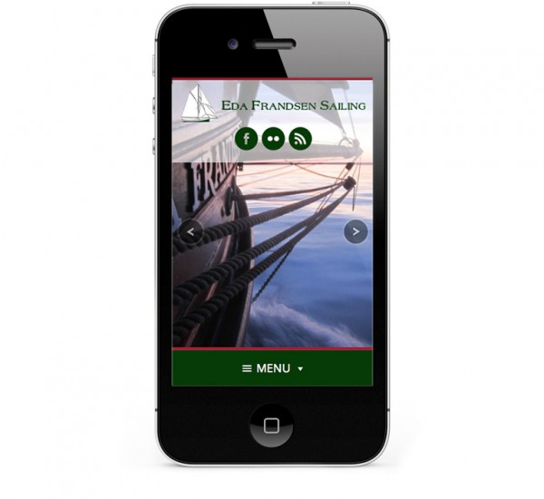 Mobile Responsive Design for iPhone and Smartphones