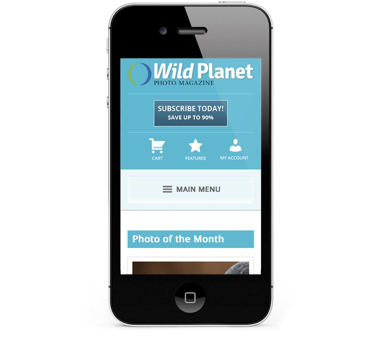 Adapting to tablets and smartphones, webdesign