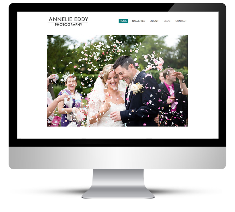 New Web Design for London Wedding Photographer