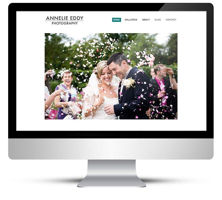 New Web Design for London Wedding Photographer