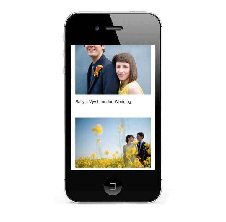 Mobile responsive design for iPhones and other smartphones