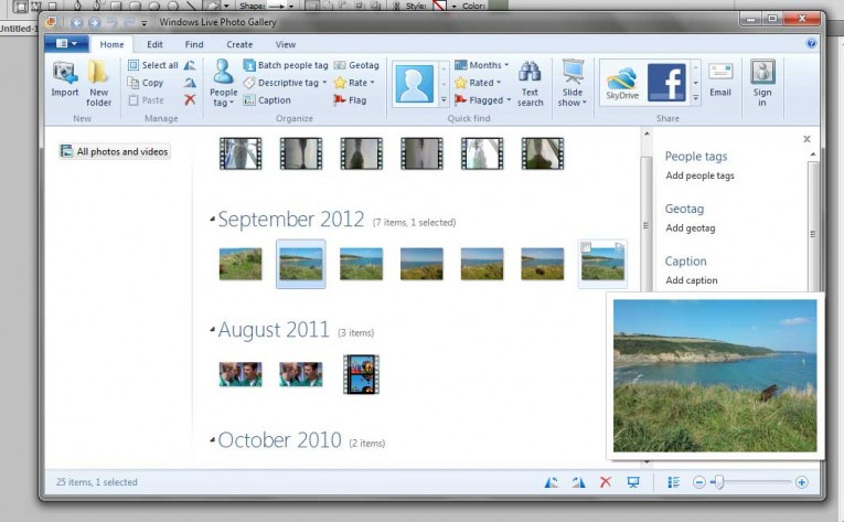 Windows saves the new file as a new image