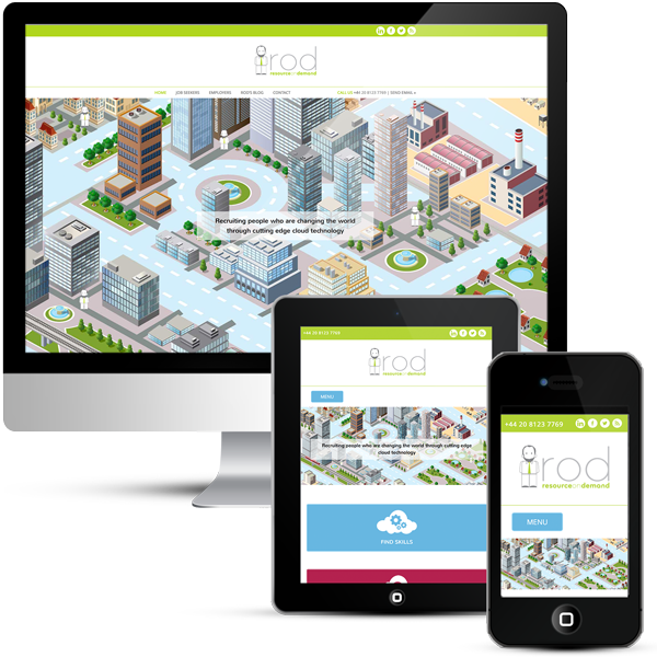 Custom WordPress Design for IT Recruitment Company