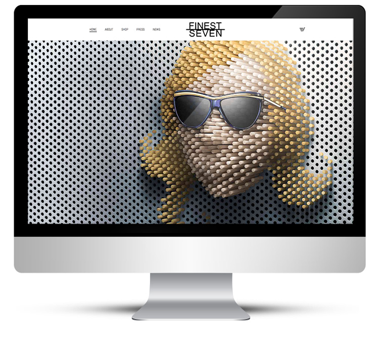 eCommerce online store - designer sunglasses