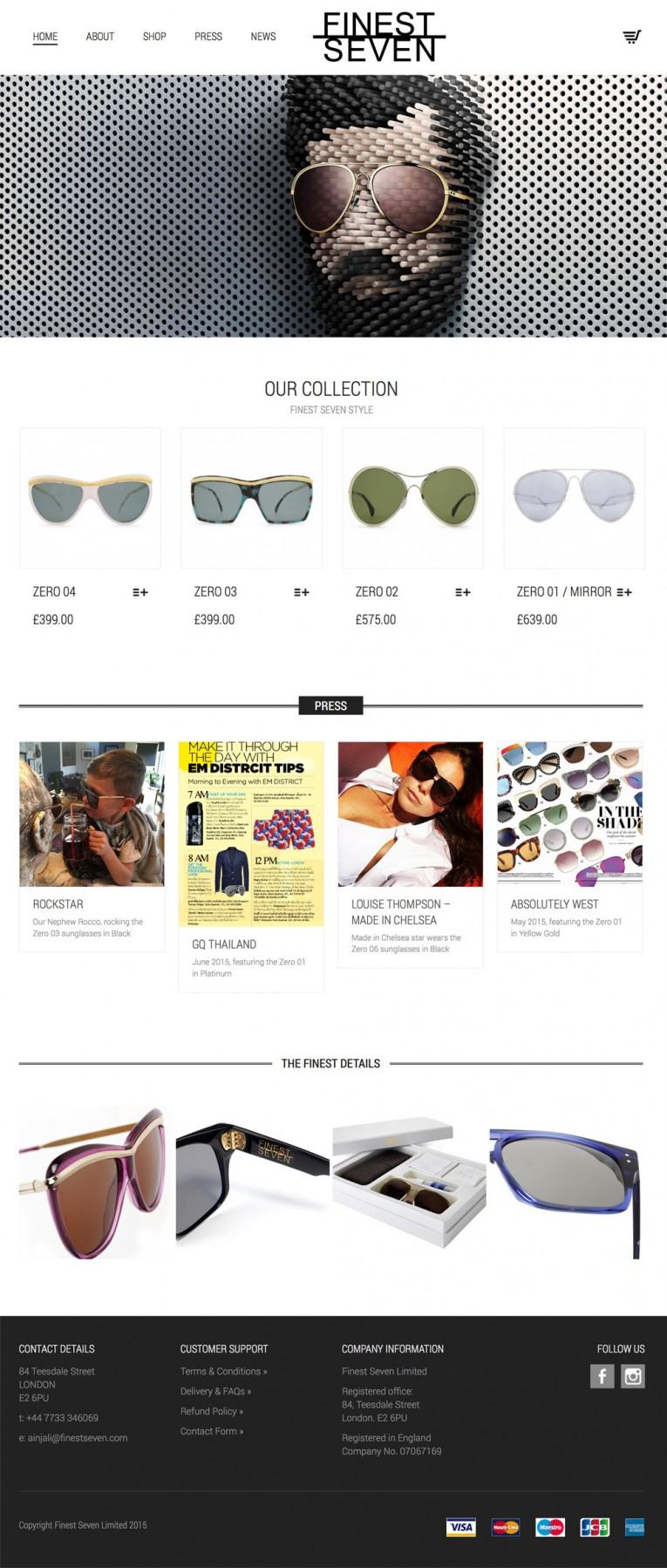 Mobile responsive online store WooCommerce