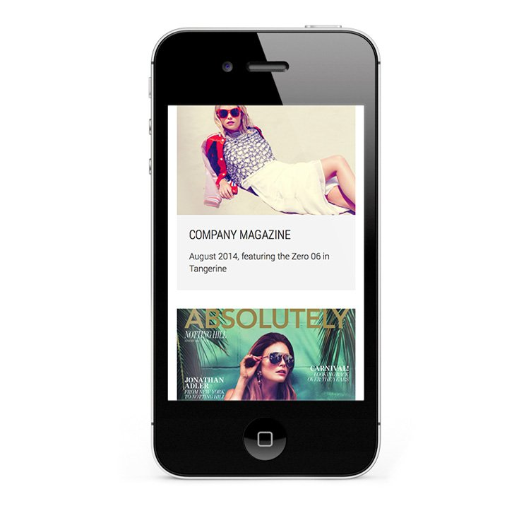 Mobile eCommerce for iPhone and smartphones