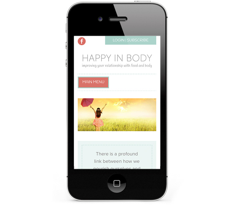 Mobile responsive design iPhones and smartphones