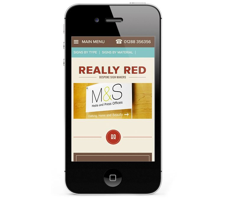 Mobile responsive WordPress Design