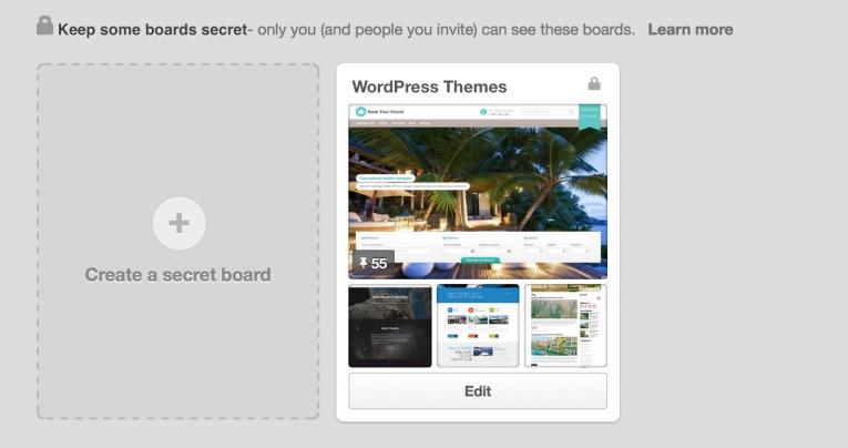Create secret boards
