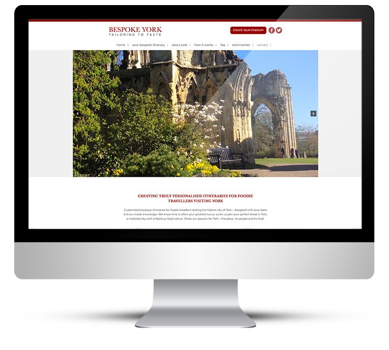 Custom Wordpress Design for Bespoke York