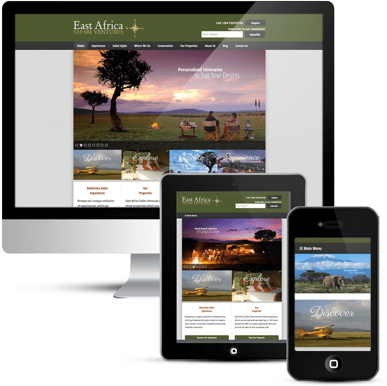 Custom WordPress Theme Mobile Responsive
