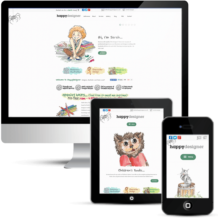 Mobile Responsive Custom Wordpress Theme