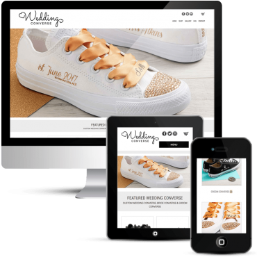 Wedding Converse Responsive WooCommerce WordPress Website