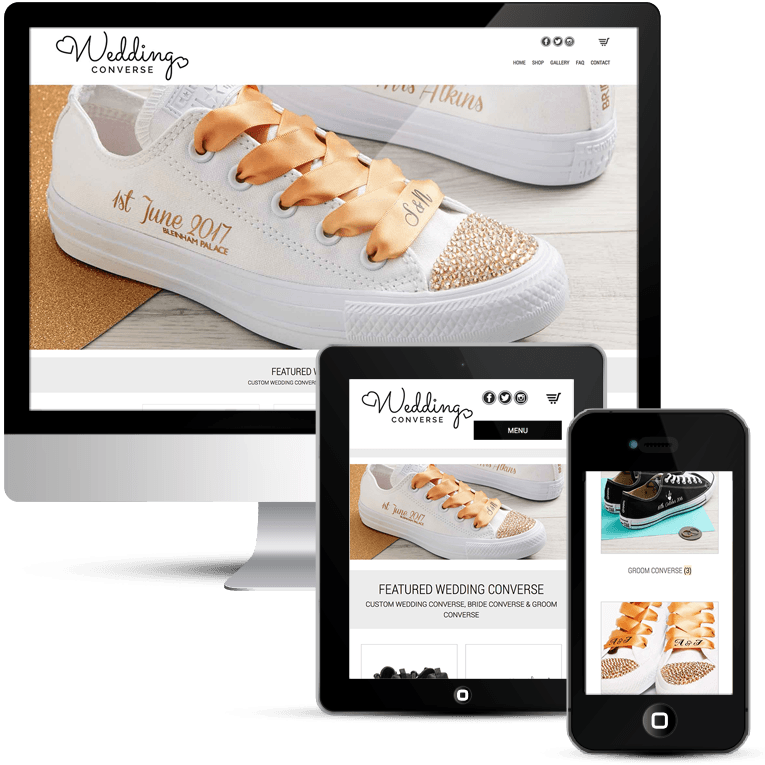 Wedding Converse Responsive WooCommerce WordPress Website