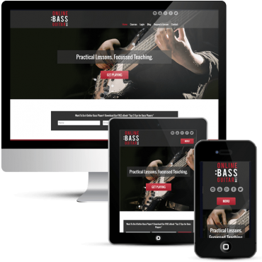 Mobile responsive custom WordPress Design
