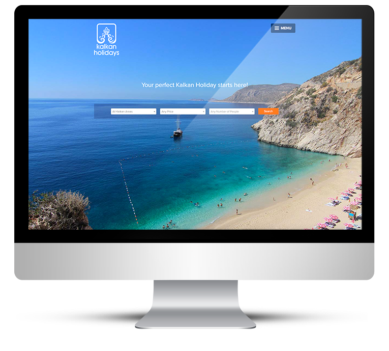 Custom WordPress Design for Kalkan Holidays