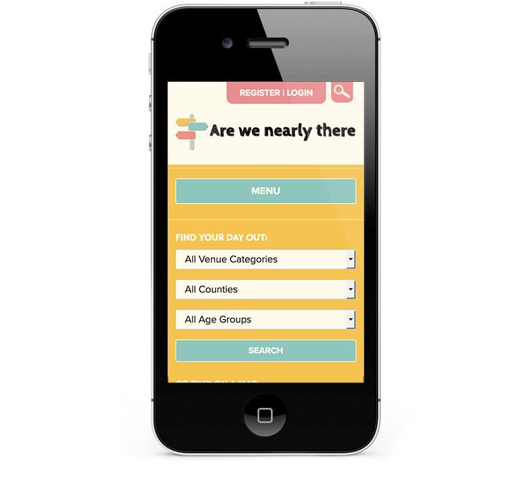 iPhone and Smartphone mobile responsive design