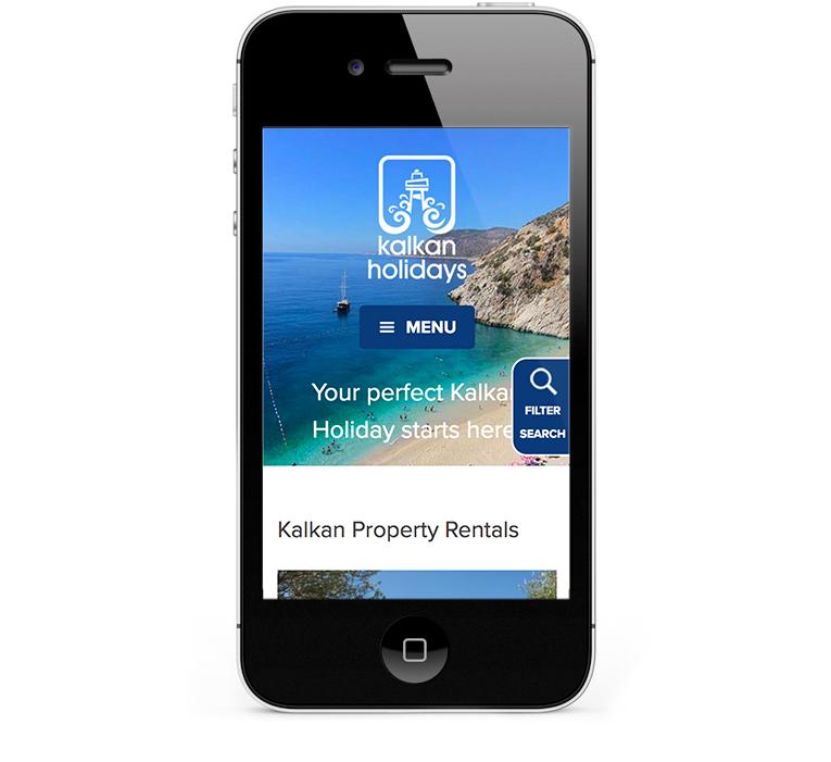 Mobile responsive web design, iPhones and Smartphones