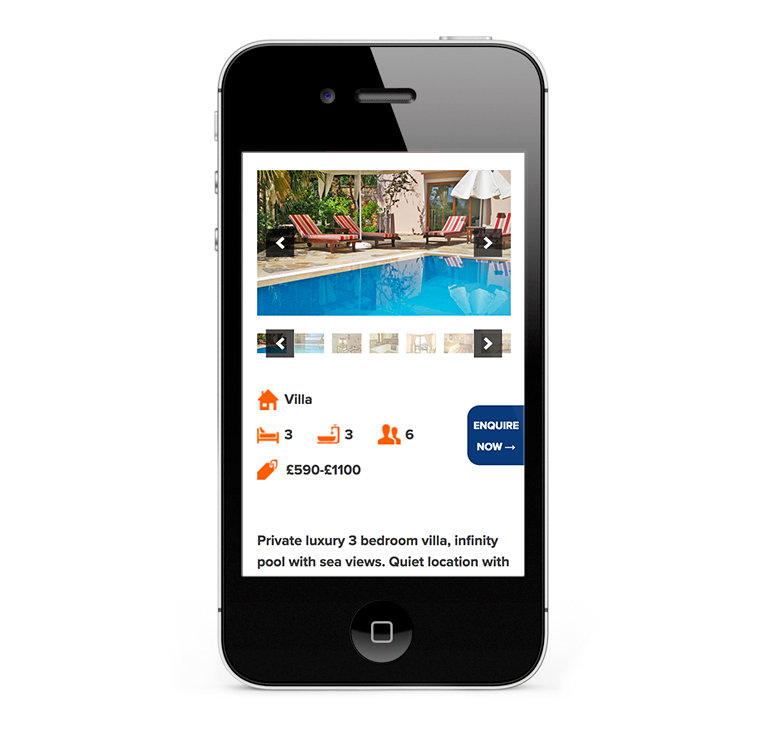 Web Design for Kalkan Holidays