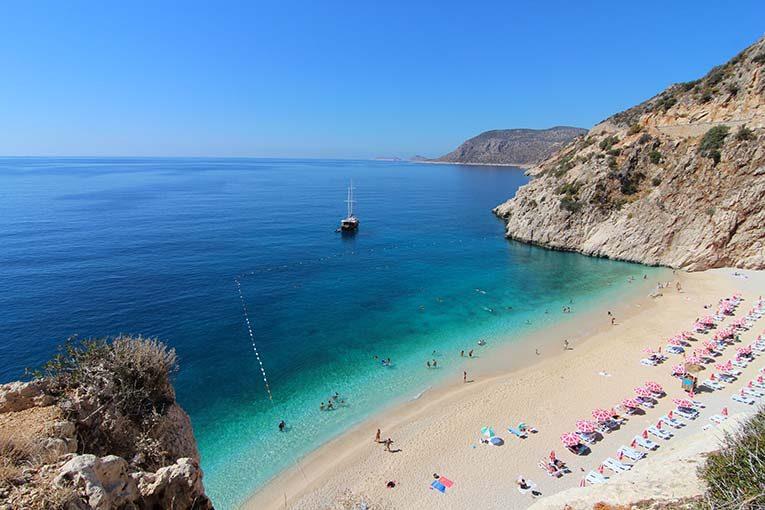 Kaputas Beach in Turkey