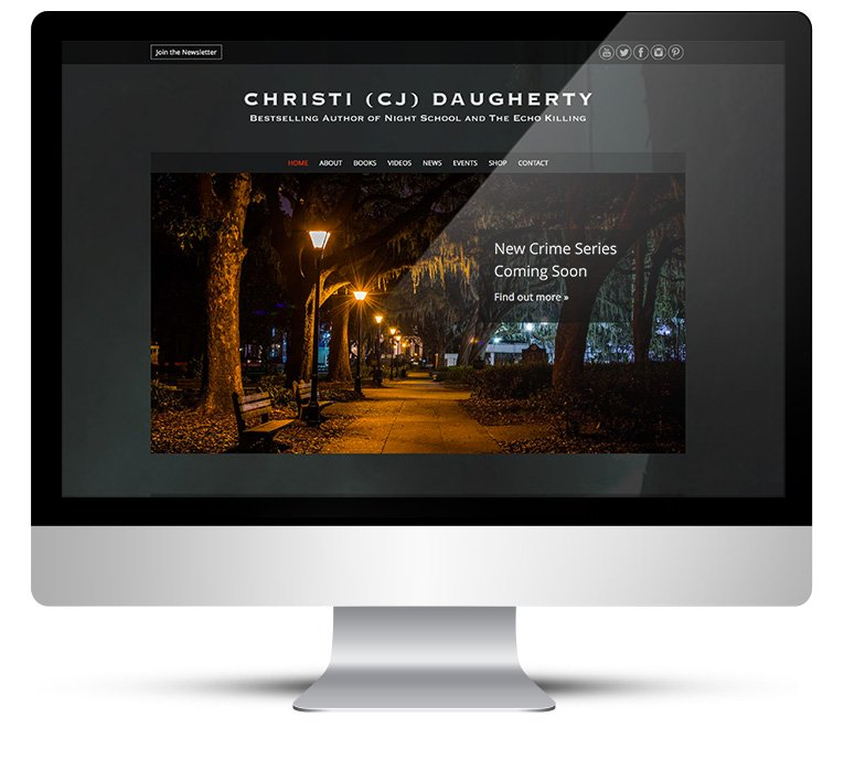 Webdesign – International bestselling author