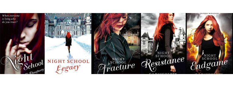The books of the Night School Series