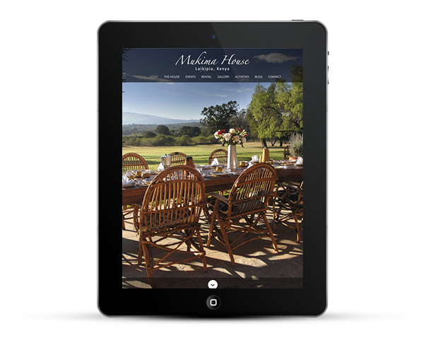 Mukima mobile responsive design iPad