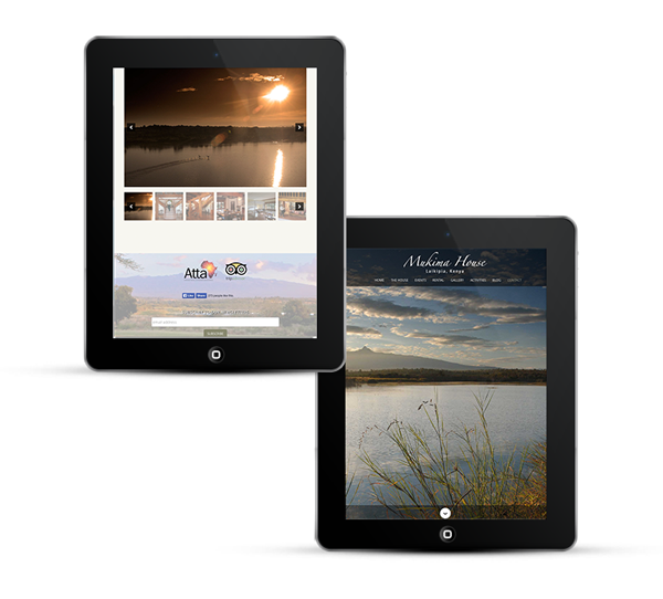 Mukima Safaris by Freelance web designer Stratford upon Avon