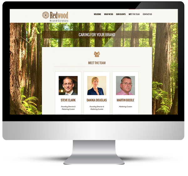 Web Design | WordPress Design Redwood Brand Curators