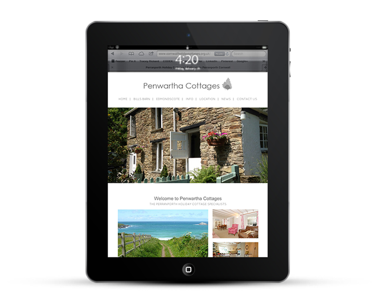 WordPress Design for Holiday Cottages