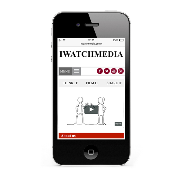 iWatch Media by Freelance web designer Stratford upon Avon