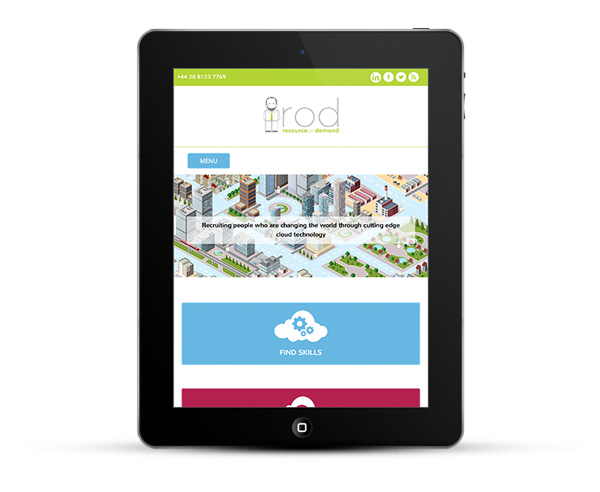 ROD - Mobile responsive web design - tablets