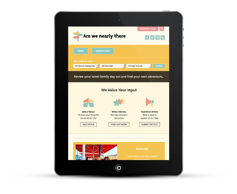 Ipad & Tablet mobile responsive design - Are we nearly there