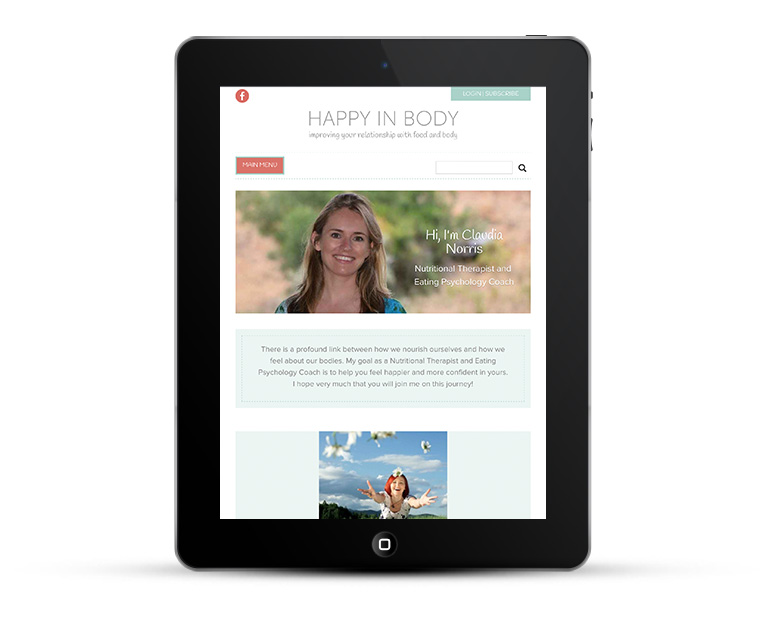Mobile responsive design iPads and tablets