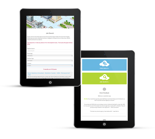 ROD website by Freelance web designer Stratford upon Avon