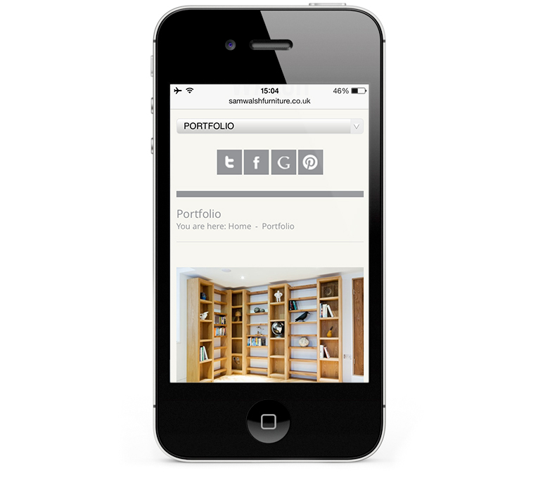 Mobile Web Design Stratford upon Avon