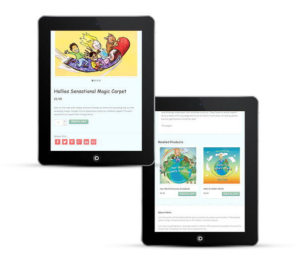 Web Design for Children's Author