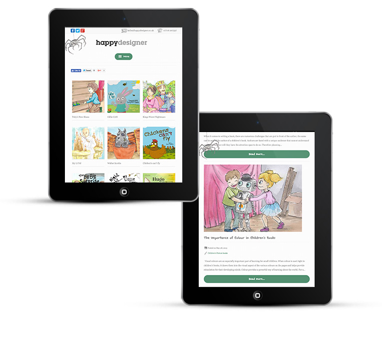 Mobile responsive WordPress development iPad