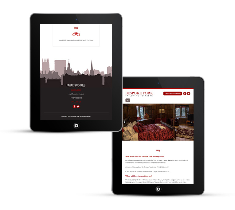 WordPress Design, Bespoke York
