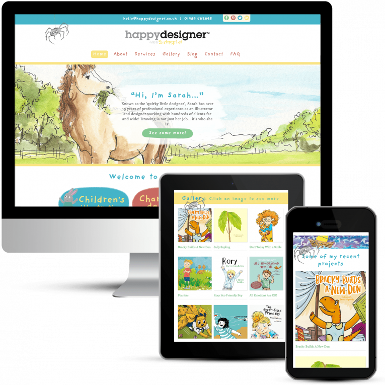 Happy Designer Web Design