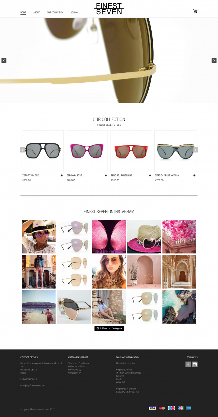 Responsive WordPress Design online store WooCommerce