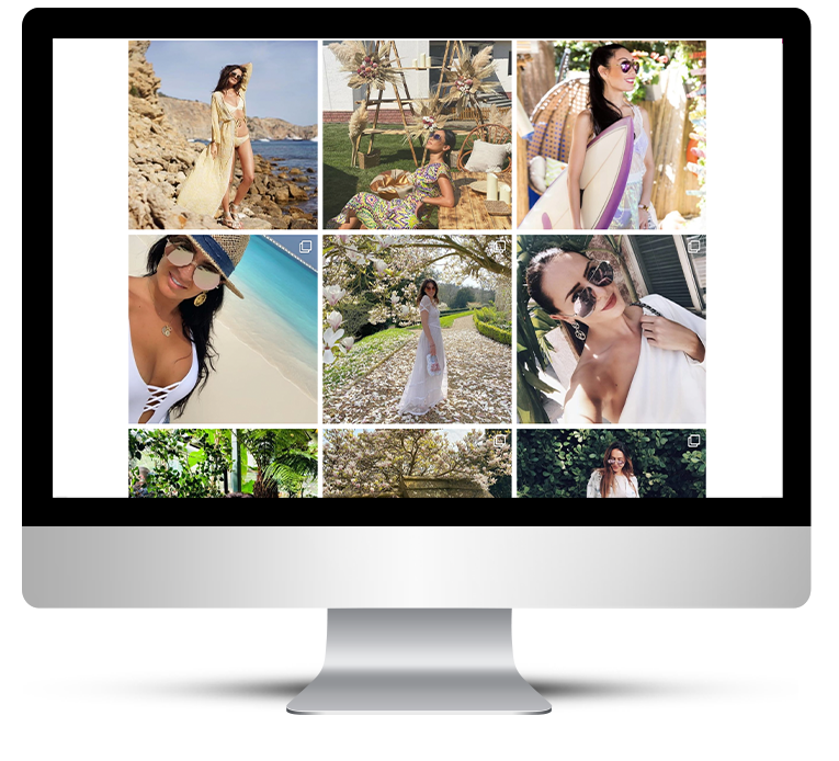 Beautiful Web Design for Finest Seven