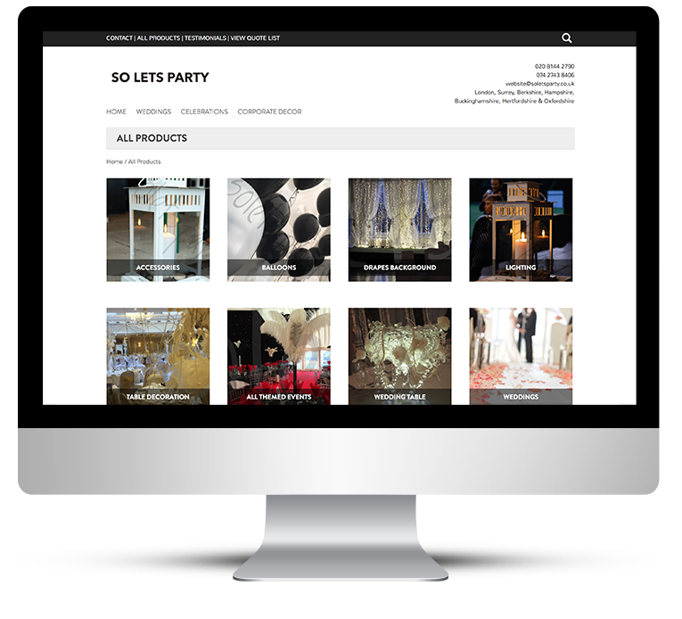 WordPress WooCommerce responsive web design online store