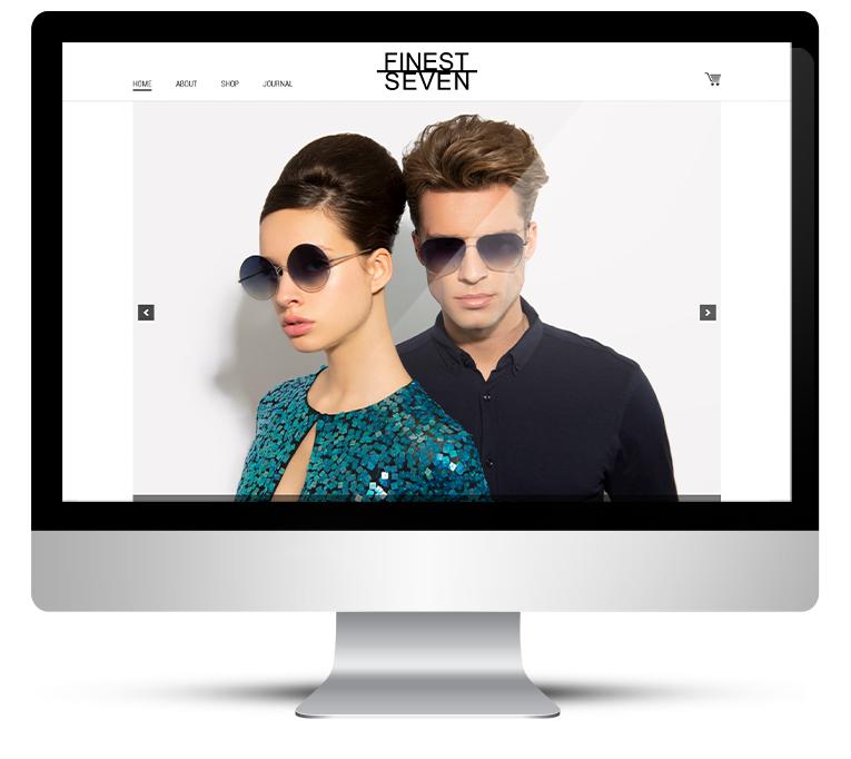 Bespoke WordPress Design for Designer Sunglasses Store