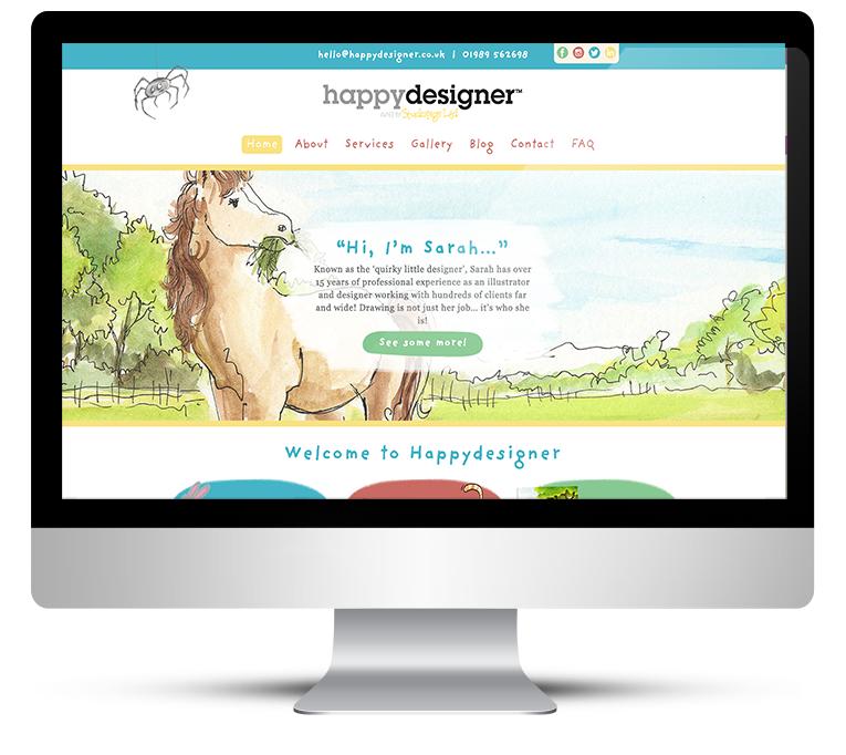 Bespoke WordPress Development for Happy Designer