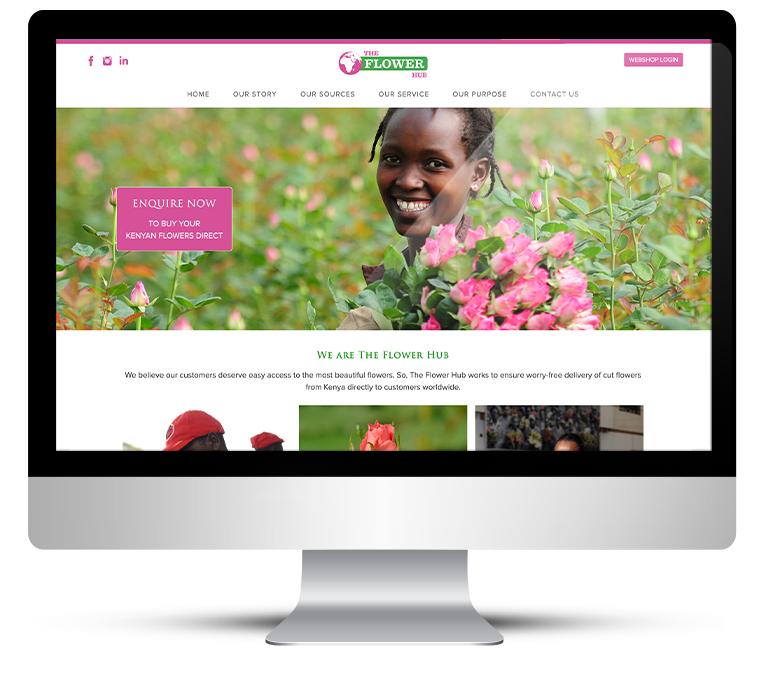 Custom WordPress design for Flower Hub