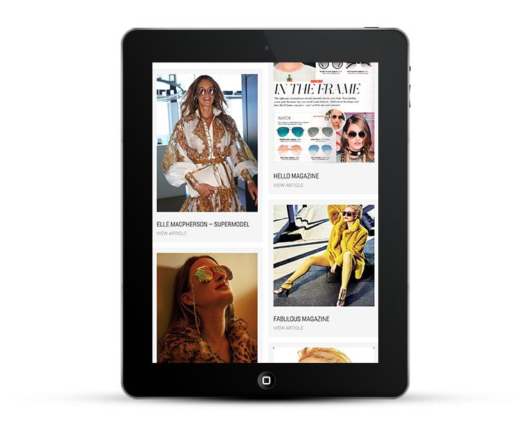 Responsive Web Design for Designer Sunglasses Retailer