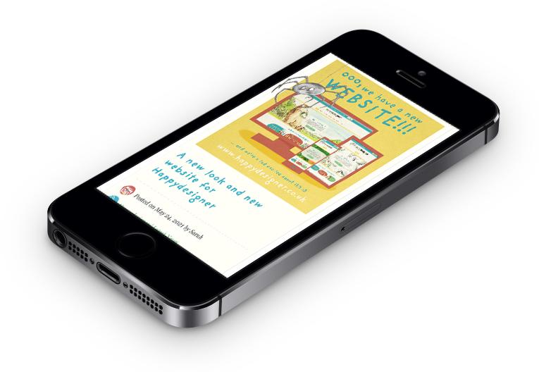 Responsive web design for smartphones