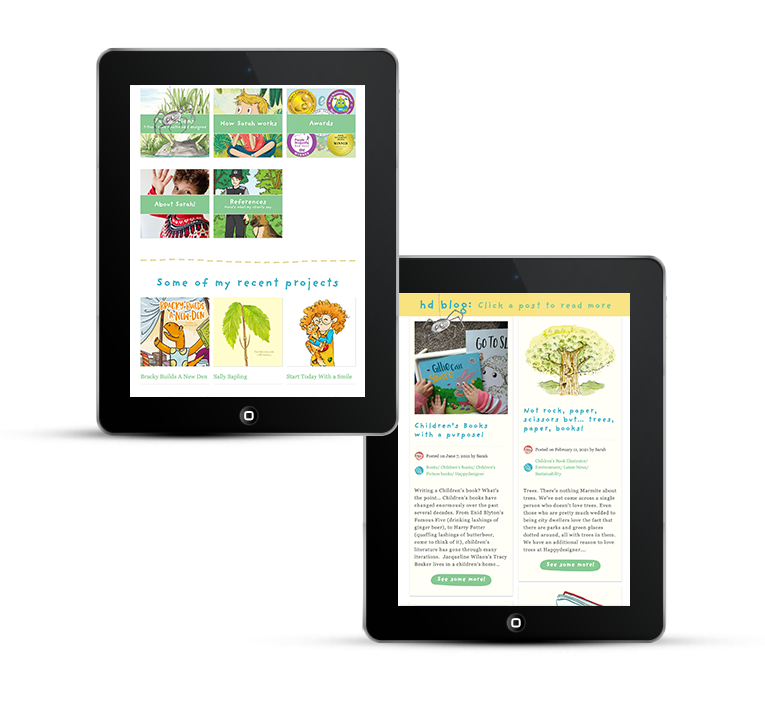 Responsive web design for tablets and iPads