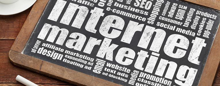 Internet marketing in web design